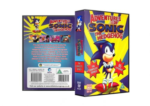 Delta Leisure Group Dvd Adventures Of Sonic The Hedgehog Complete Series Dvd Set Classic Dvd Shop